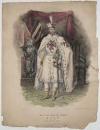 Фабре-Палапра в облачении Великого Магистра ордена тамплиеров