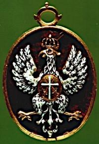 Аверс медали, Ордена Белого Орла