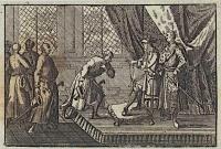 Гравюра, изображающая вручение орденов в Тыкотине по Августом II в 1705 году.
